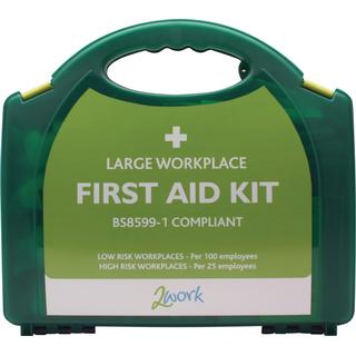 2Work BSI First Aid Kit Large