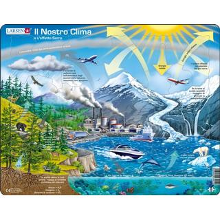 Larsen Our Climate & the Greenhouse Effect 69 Pieces