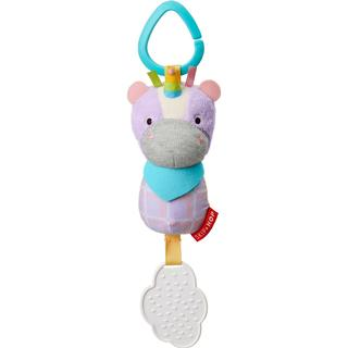 Skip Hop Bandana Buddies Chime & Teethe Toy Unicorn