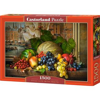Castorland Still Life with Fruits 1500 Pieces
