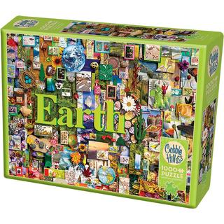 Cobblehill Earth 1000 Pieces
