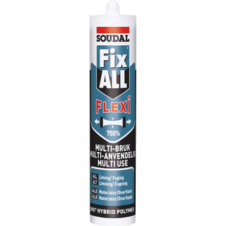 Soudal Fix All Flexi Grey 290ml 1pcs