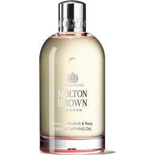 Molton Brown Delicious Rhubarb & Rose Vibrant Bathing Oil 200ml