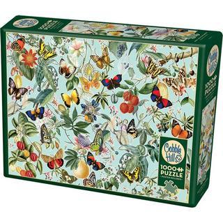 Cobblehill Fruit & Flutterbies 1000 Pieces