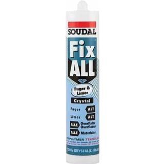 Soudal Fix All Crystal Transparent 290ml 1pcs