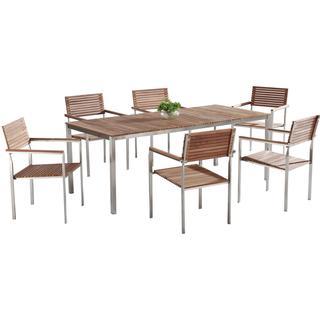 Beliani Viareggio Dining Group, 1 Table inkcl. 6 Chairs