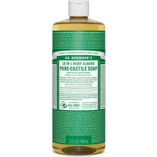 Dr. Bronners Pure-Castile Liquid Soap Almond 946ml