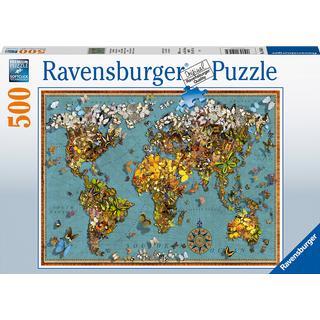 Ravensburger World of Butterflies 500 Pieces