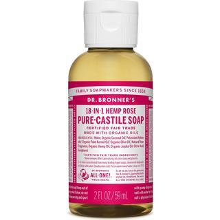Dr. Bronners Pure-Castile Liquid Soap Rose 59ml
