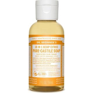 Dr. Bronners Pure-Castile Liquid Soap Citrus 59ml