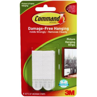 3M Command Medium 4-pack Picture hook