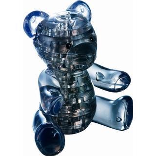 Hcm-Kinzel Crystal Puzzle Teddy Black 41 Pieces