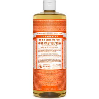 Dr. Bronners Pure-Castile Liquid Soap Tea Tree 946ml