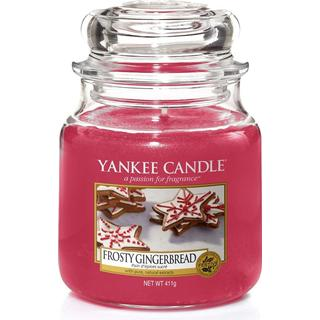 Yankee Candle Frosty Gingerbread Medium Scented Candles