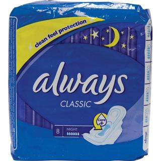 Always Classic Night 8-pack