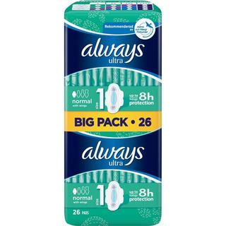 Always Ultra Normal with wings Size 1 26-pack