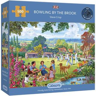 Gibsons Bowling by the Brook 500 Pieces