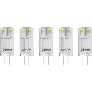 LEDVANCE BASE PIN 10 LED Lamps 0.9W G4 5-pack