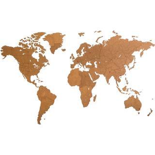MiMi Innovations World Map 280cm Wall Decor