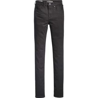 Levi's 724 High Rise Straight Jeans - Black Sheep/Black