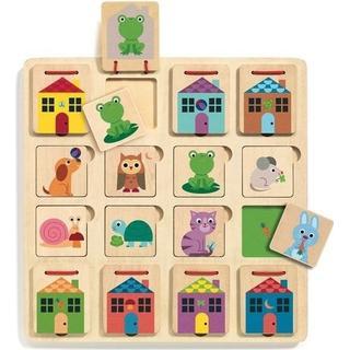 Djeco Puzzle Cabanimo 16 Pieces