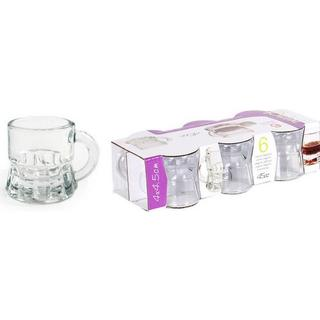 BigBuy Dubai Shot Glass 4.5 cl 6 pcs
