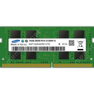 Samsung SO-DIMM DDR4 2666MHz 16GB (M471A2K43CB1-CTD)