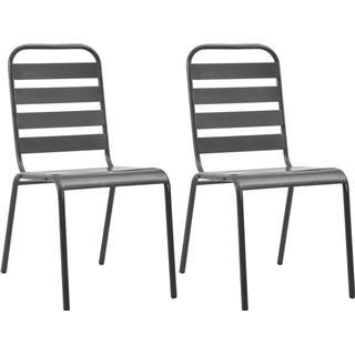 vidaXL 44257 2-pack Garden Dining Chair