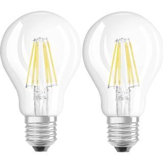 LEDVANCE Base CLAS A 60 LED Lamp 7W E27 2-pack