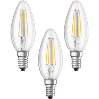 LEDVANCE Base RF CLAS B 40 LED Lamp 4W E14 3-pack