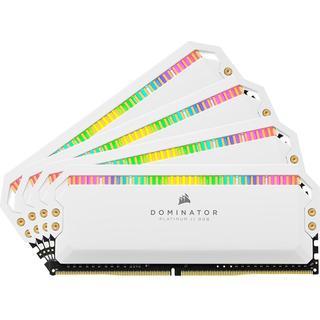 Corsair Dominator Platinum RGB White DDR4 4000MHz 4x8GB (CMT32GX4M4K4000C19W)