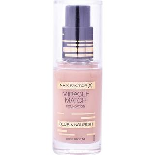 Max Factor Miracle Match Foundation #65 Rose Beige