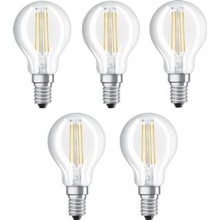 LEDVANCE Value CLAS P 40 LED Lamp 4W E14 5-pack