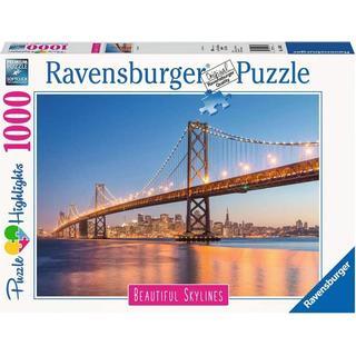 Ravensburger Beautiful Skylines Oakland Bay Bridge 1000 Pieces