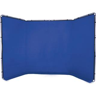 Lastolite Panoramic Background 4m Chroma Key Blue