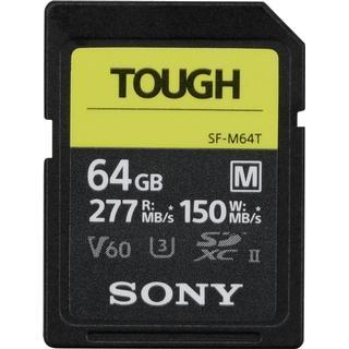 Sony SDXC Class 10 UHS-II U3 V60 277/150MB/s 64GB