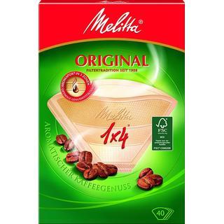 Melitta Original 1x4 Coffee Filter 40st