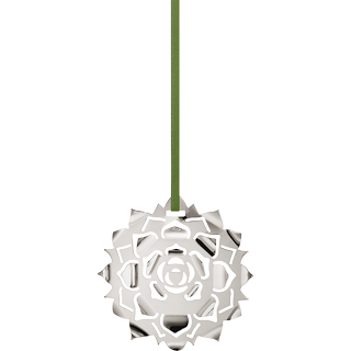 Georg Jensen Ice Rosette 2020 4cm Christmas tree ornament Christmas decorations
