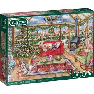 Jumbo Falcon the Christmas Conservatory 1000 Pieces