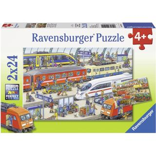 Ravensburger Busy Train Station 2x24 Pieces