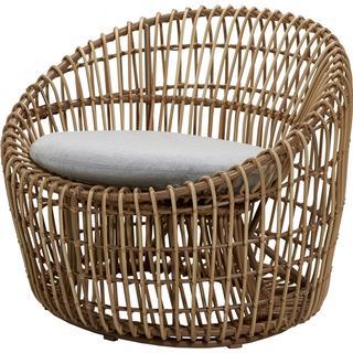 Cane-Line Nest Round Easy Chair