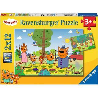 Ravensburger Kid e Cats 2x12 Pieces