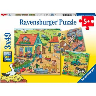 Ravensburger On the Farm 3x49 Pieces