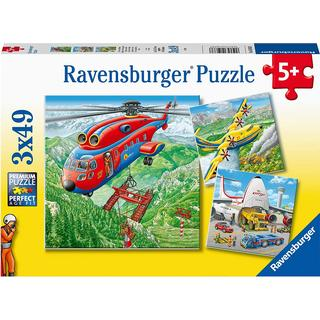 Ravensburger Above the Clouds 3x49 Pieces