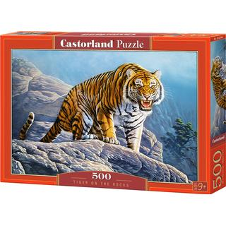 Castorland Tiger on the Rock 500 Pieces