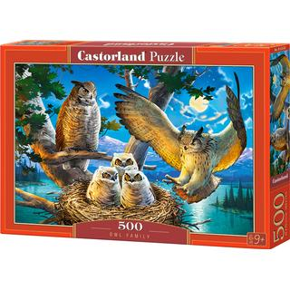 Castorland Owl Family 500 Pieces