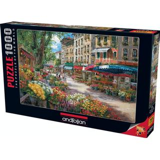 Anatolian Paris Flower Market 1000 Pieces