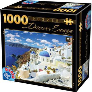 Dtoys Discover Europe Santorini 1000 Pieces