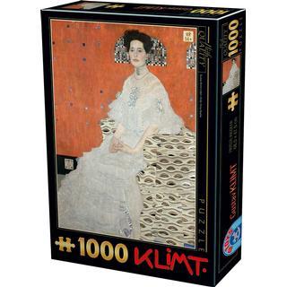 Dtoys Gustav Klimt Fritza Riedler 1000 Pieces