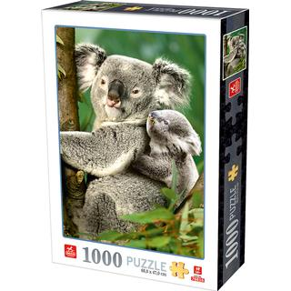 Dtoys Koala Bears 1000 Pieces